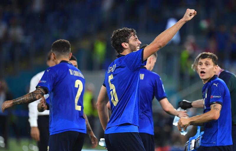 italia-tre-menda!-e-ancora-spettacolo-all'olimpico:-3-0-alla-svizzera,-gia-staccato-il-pass-per-gli-ottavi