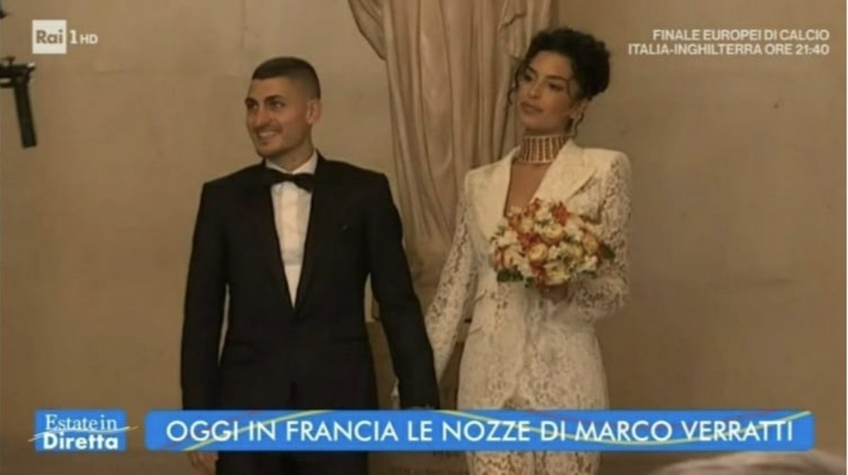 """il-matrimonio-a-parigi-di-marco-verratti-e-jessica-aidi,-il-momento-del-""""si"""""""