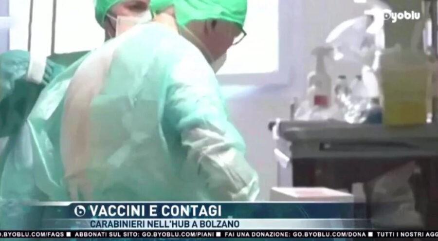 carabinieri-all'hub-vaccinale-di-bolzano.-se-i-vaccini-non-prevengono-l'infezione,-i-medici-rischiano-il-reato-di-falso-ideologico?