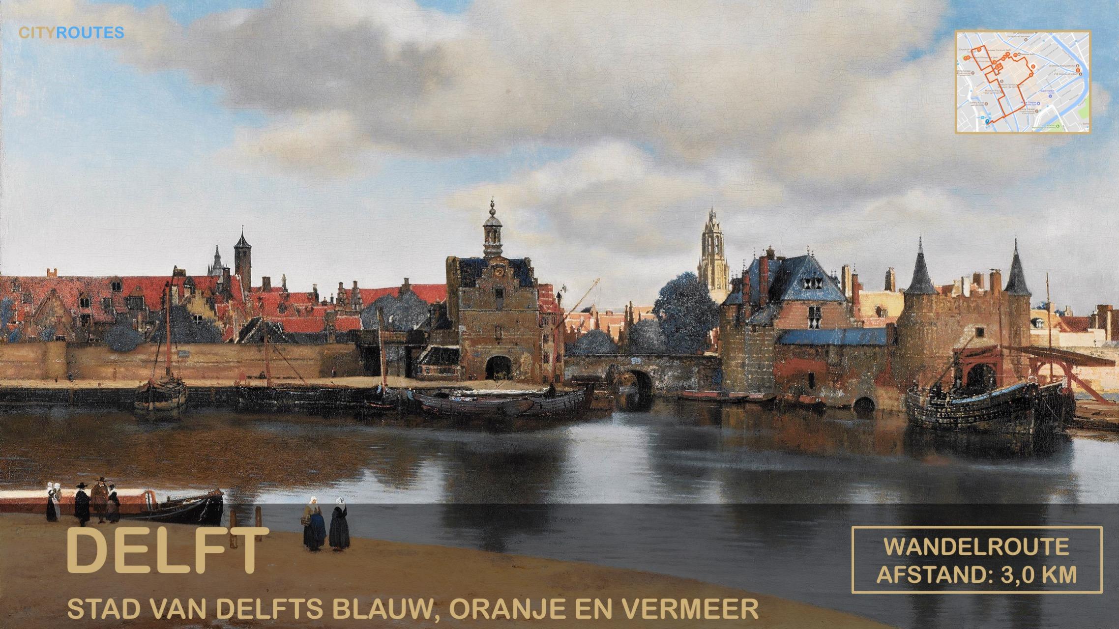 Gratis stadswandeling Delft Cityroutes