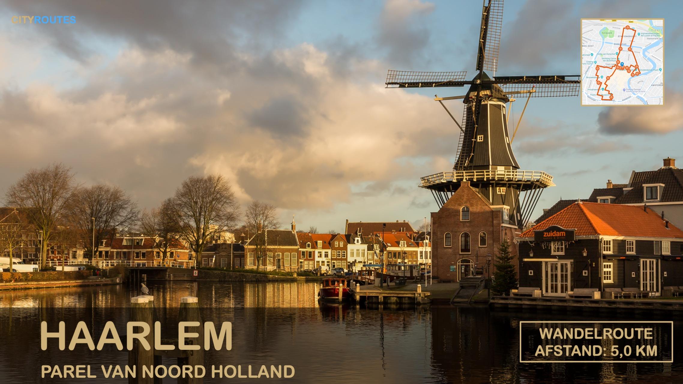 Gratis stadswandeling Haarlem Cityroutes
