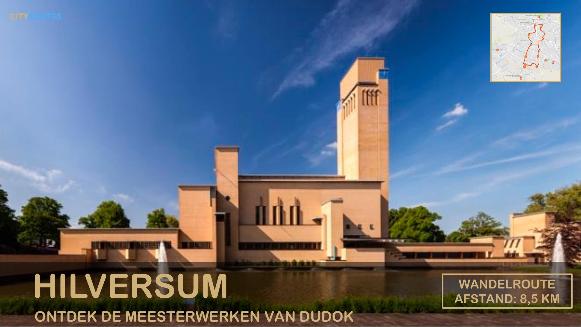 Gratis stadswandeling Hilversum Cityroutes