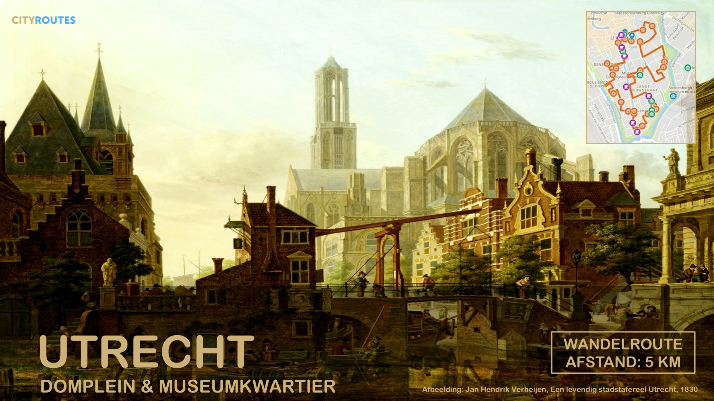 Gratis stadswandeling Utrecht Cityroutes