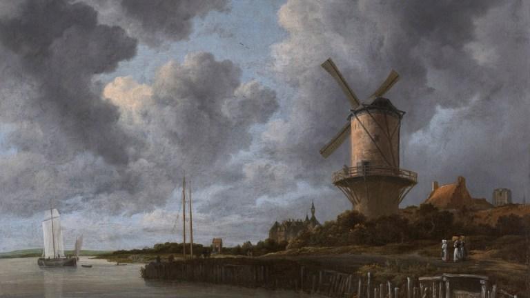 Molen bij Wijk bij Duurstede Ruydael