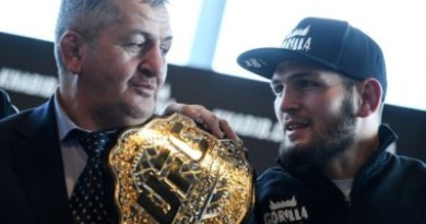 UFC Undeafeated Champion Khabib Nurmagomedov's Father Dies From Coronavirus At 57