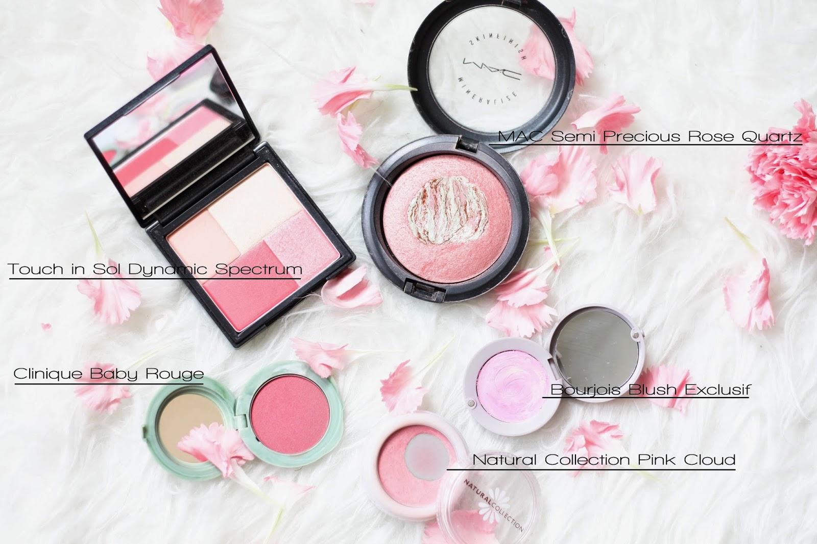 Top 5 spring pink blushers