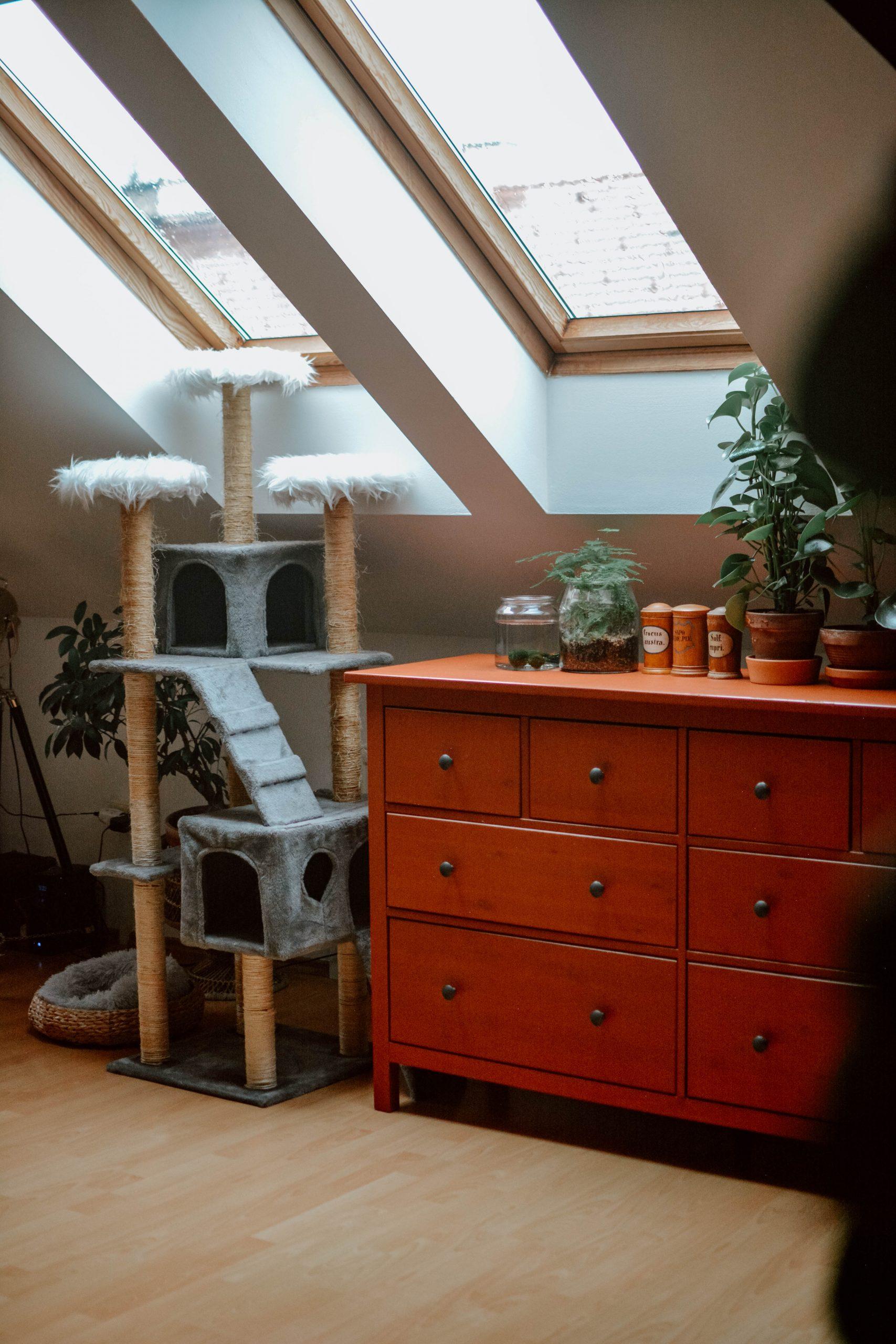 Repair instead of rebuy: Cat scratch tower