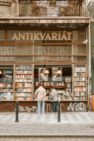 6 beautiful second hand bookshops in Prague city centre