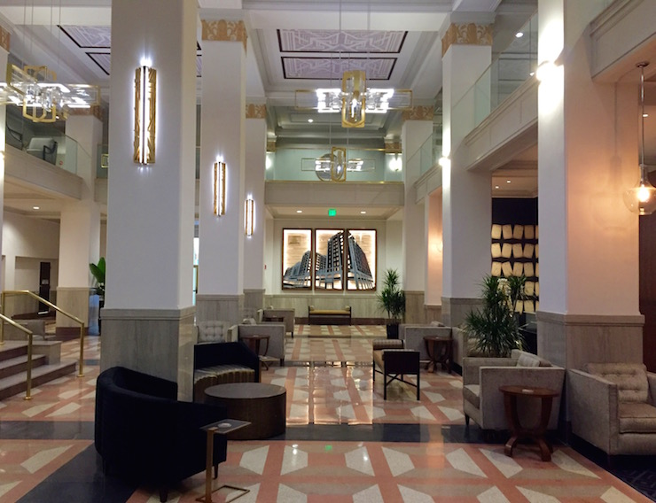 The Two Level Lobby Of Historic Pickwick Complex Is Among Its Amenities