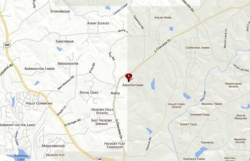 Ashton Farms Canton GA Location
