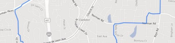City Of Clarkston GA Area Map
