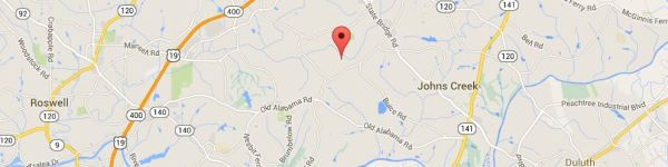 Johns Creek Map Colony Glen Development