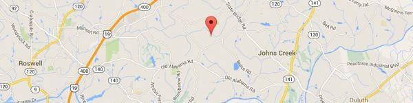 Johns Creek Map Colony Glen Development