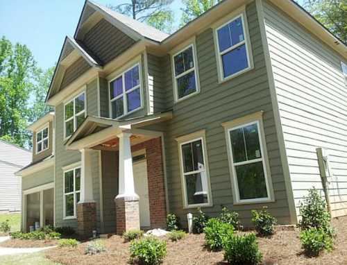 Home In Austell Creekside At Wade Farm