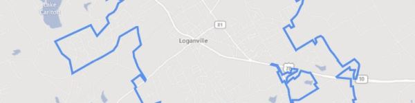 City Of Loganville GA Area Map
