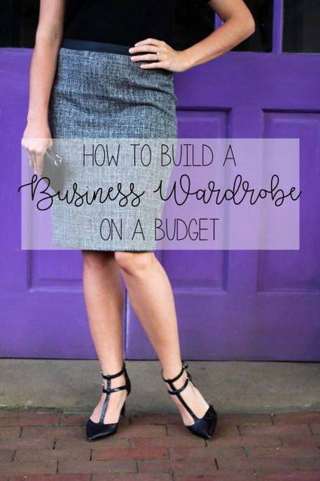 Business Wardrobe for women