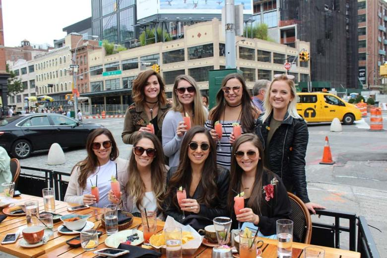 Bottomless Brunch NYC | Dos Caminos Meatpacking | Girls Weekend in NYC