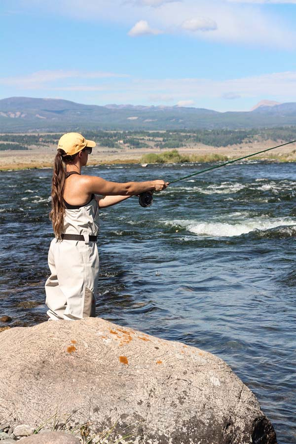 Fly Fishing in Big Sky, Montana