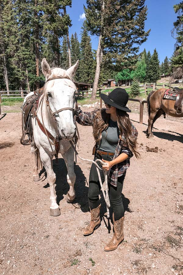 Horseback Riding in Big Sky, Montana