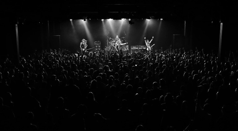 image taken from Commodore Ballroom - Steel Panther concert