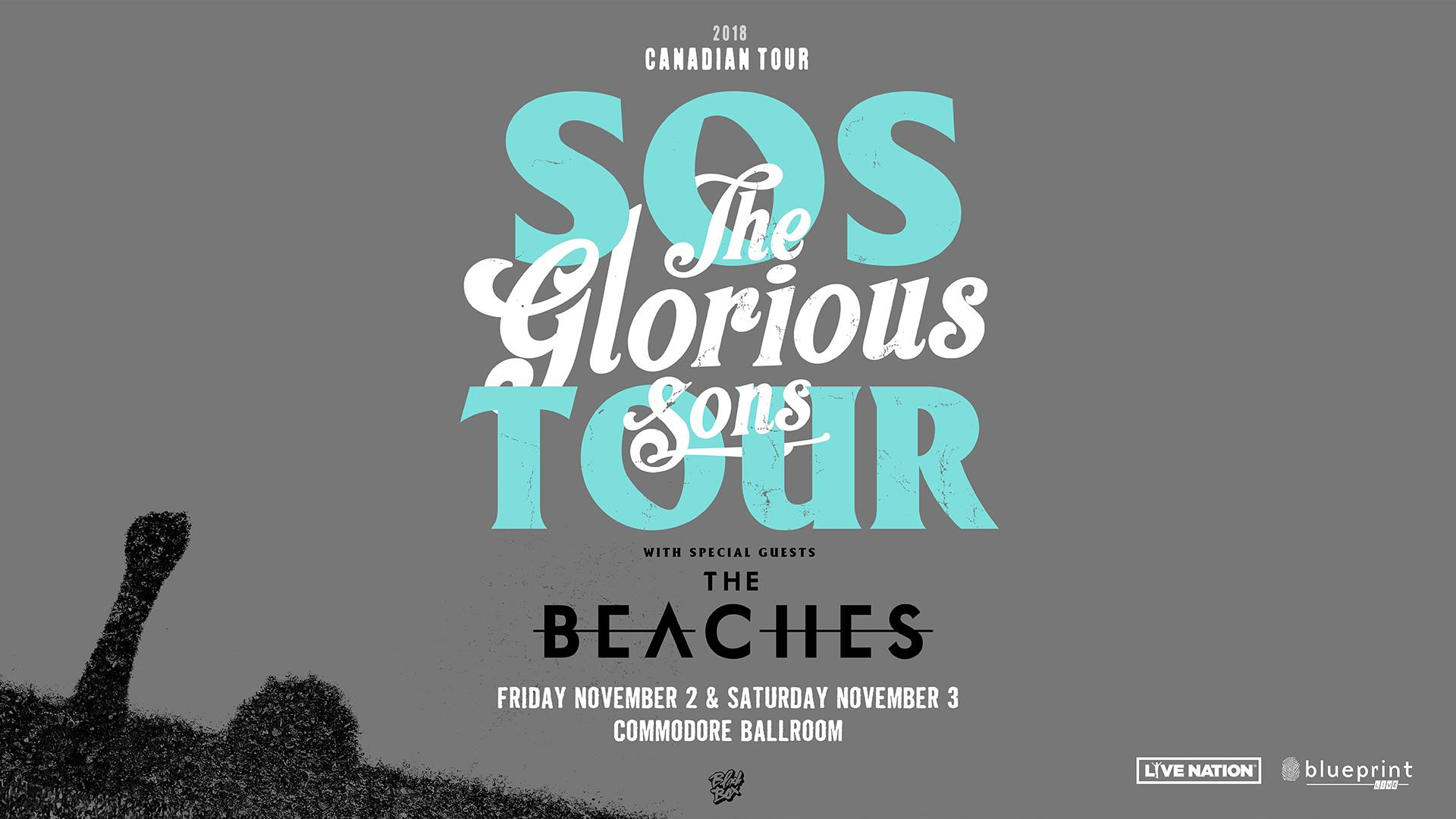 The glorious sons sos tour 2 nights city soundcheck the glorious sons malvernweather Gallery