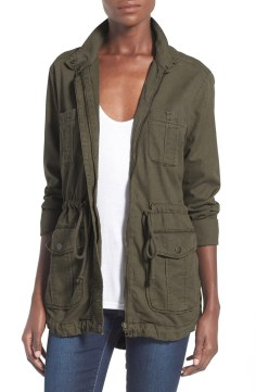 BP. Cargo Anorak Jacket Now $40.80 Orig 68.00