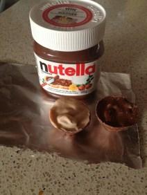 11 - nutella chocolate eggs