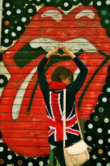 love, rolling stones, union jack