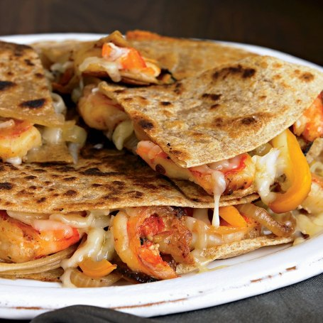 City Shrimp Loaded Quesadillas