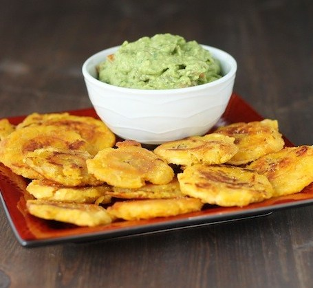 Tostones with Guac