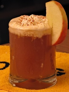 Spiced Bourbon and Cider