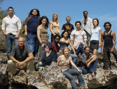 With the cast of LOST
