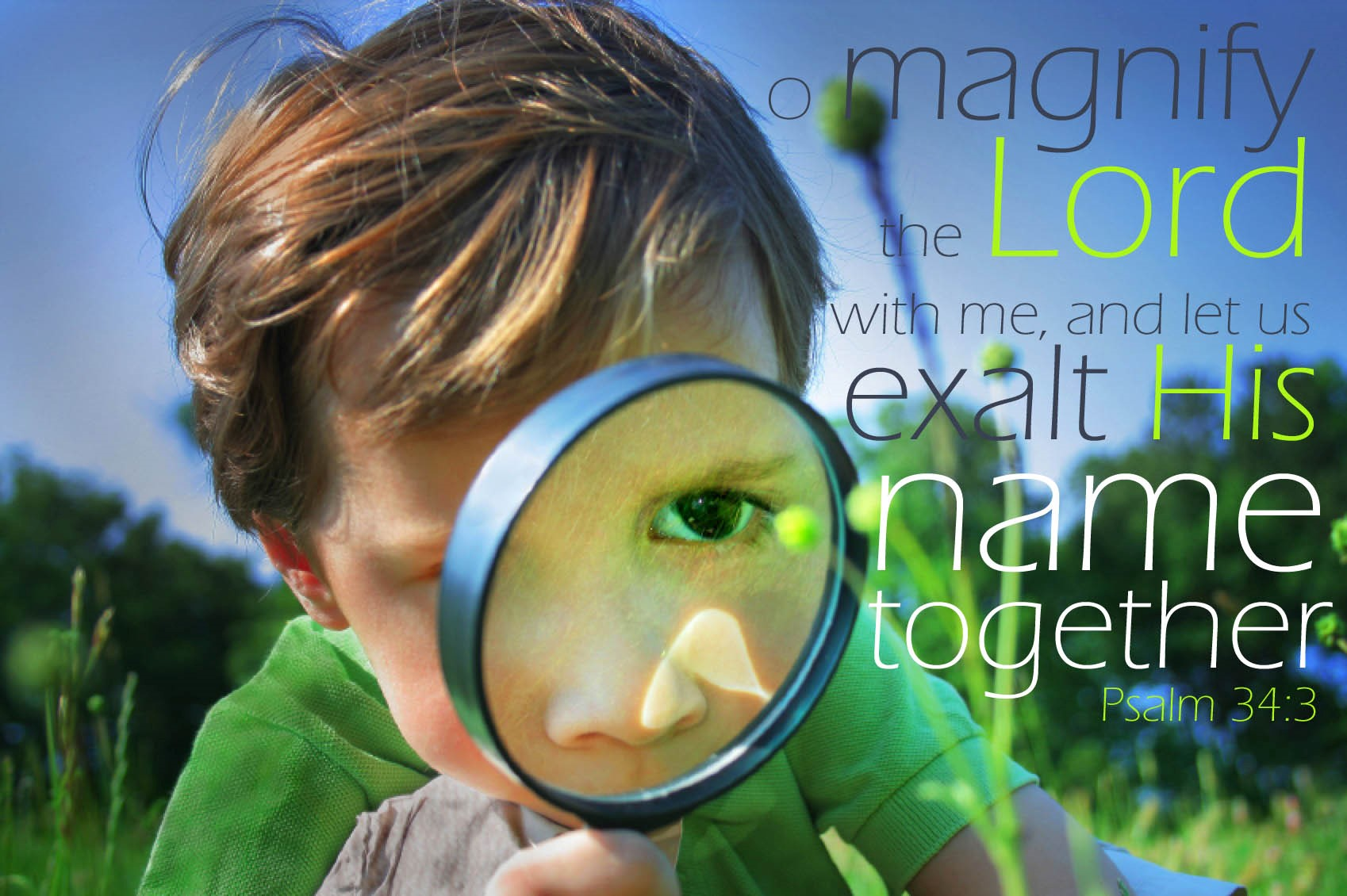 Image result for magnify the lord