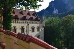 Veduta di Neuschwanstein dal castello di Hohenschwangau. Foto di Angela Di Matteo.