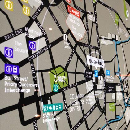 Birmingham shopping map Archives City Wayfinding Blog