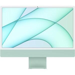"Apple 24"" iMac 4.5K: M1 chip,8C CPU,7C GPU,256GB - Green"
