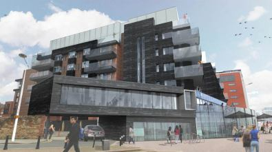 Visuals of 'One the Brayford': Stem Architects Ltd