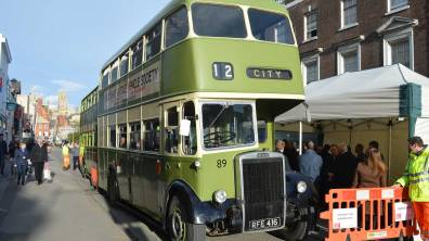 Lincolnshire Corporation Bus. Photo: Sarah Harrison-Barker