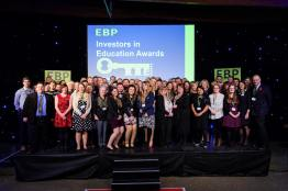 The EBP's Investor in Education awards 2016. Photo: Chris Vaughan