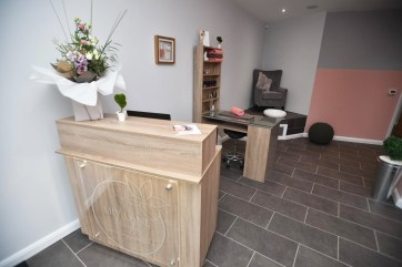 Reception area. Photo: Steve Smailes for Lincolnshire Business