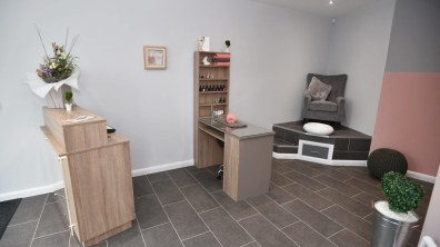 Nail desk. Photo: Steve Smailes for Lincolnshire Business