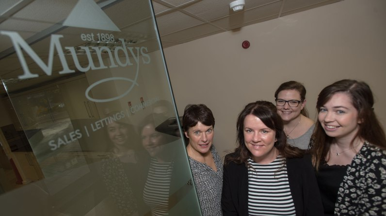 The lettings team at Mundys. Photo: Steve Smailes