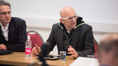 Jason Bradbury, TV personality and presenter of The Gadget Show UK and US. Photo: Steve Smailes for Lincolnshire Business