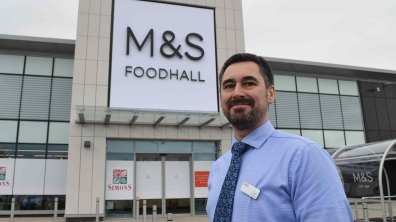 Store Manager Daniel Ward. Photo: Sarah Barker for Lincolnshire Business