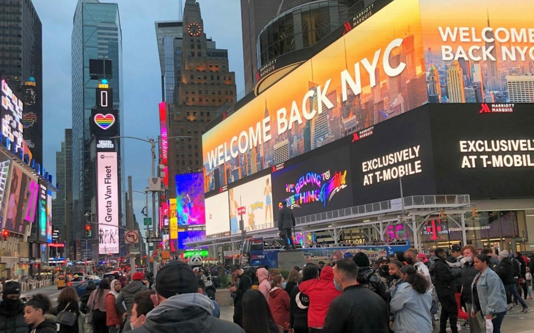 Welcome Back New York City
