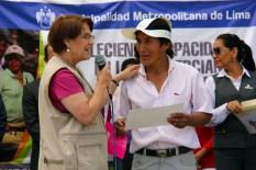 ALCALDESA PALABRAS