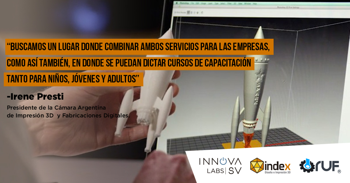Se inauguró INNOVA Labs, el primer laboratorio de robótica e impresión 3D de la provincia de Córdoba
