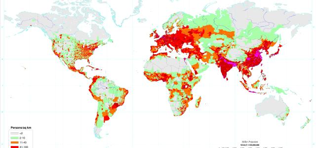¿Cuantas personas hay en el mundo exactamente? 2017