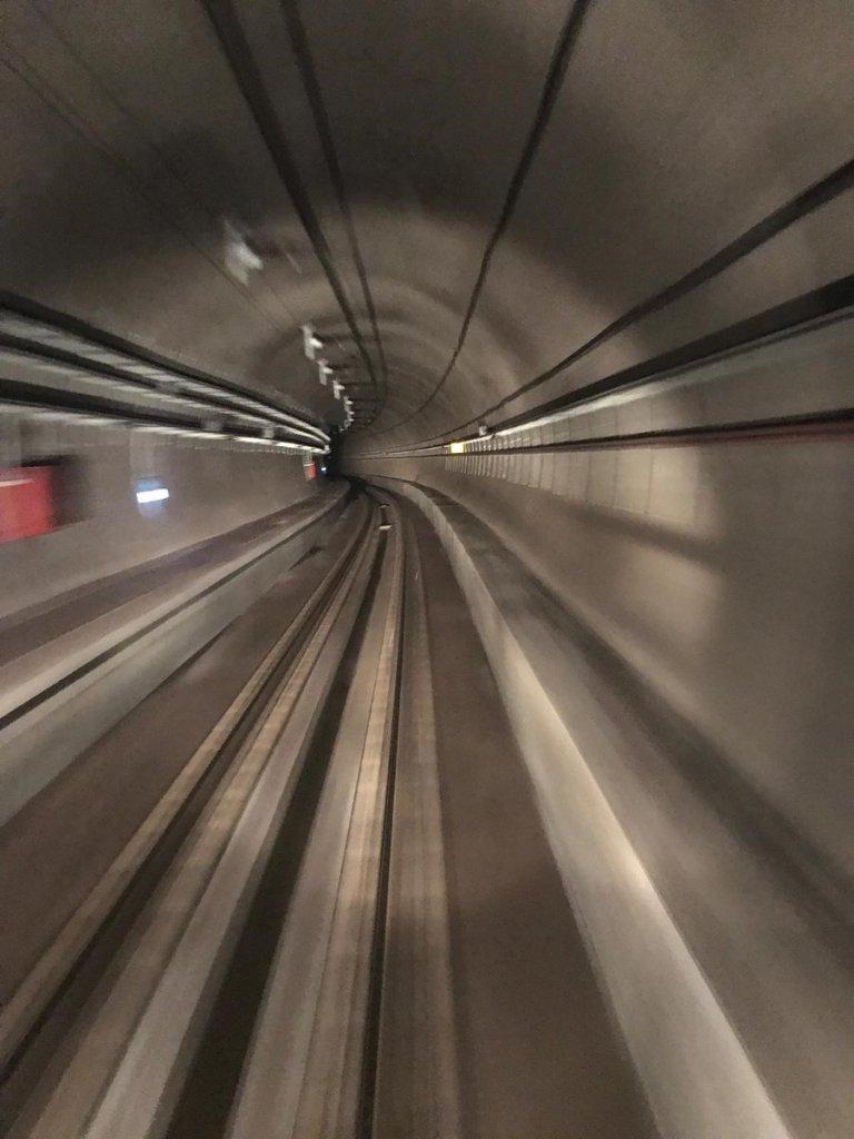 Imagen túnel bajo el Bósforo, Marmaray.