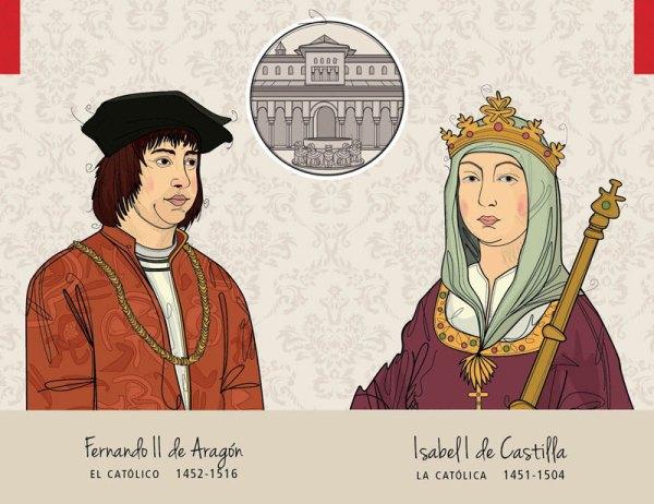 Fernando II de Aragón - Isabel I de Castilla